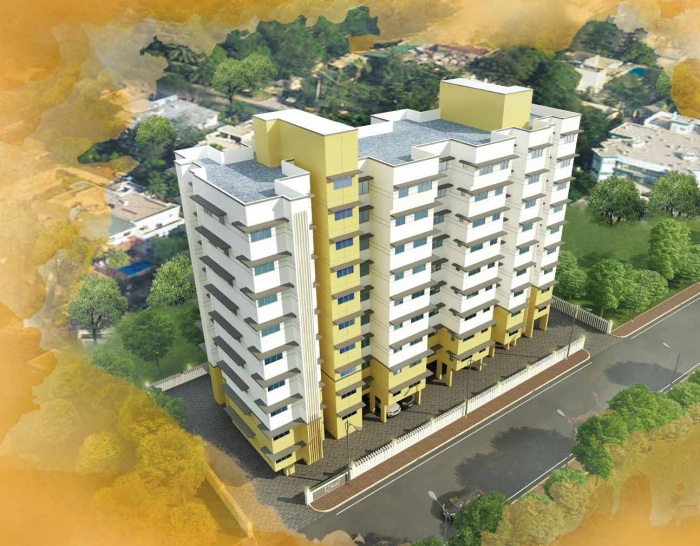 paranjape schemes ujval project tower view1