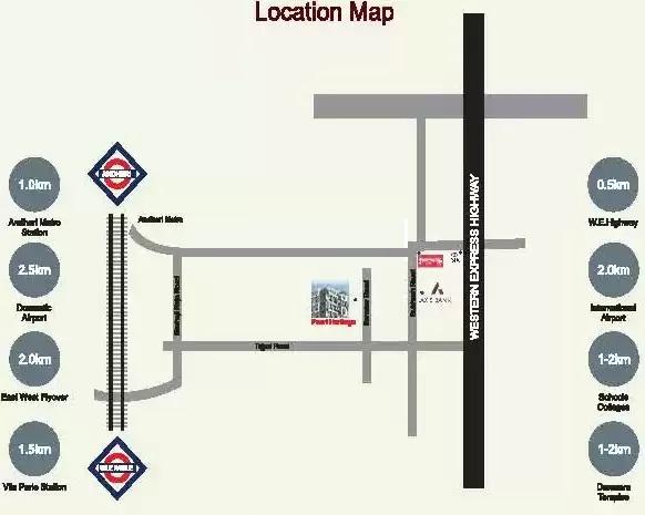 pattathu pearl heritage project location image1