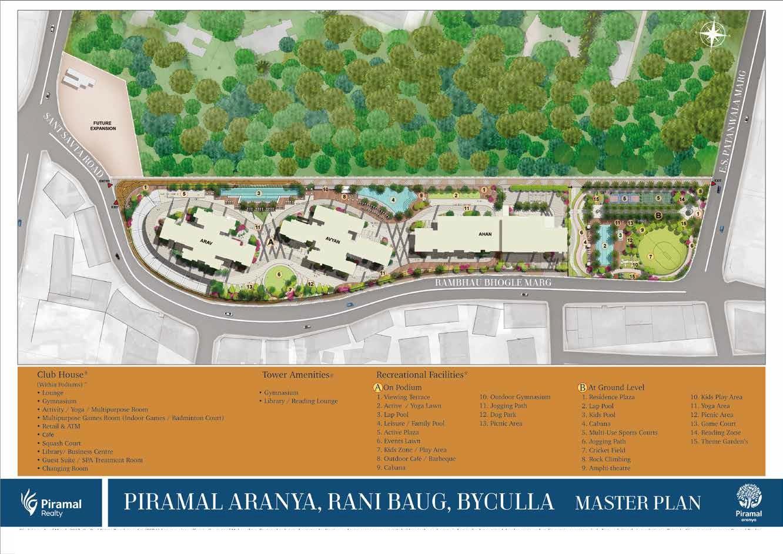 piramal aranya ahan project master plan image1