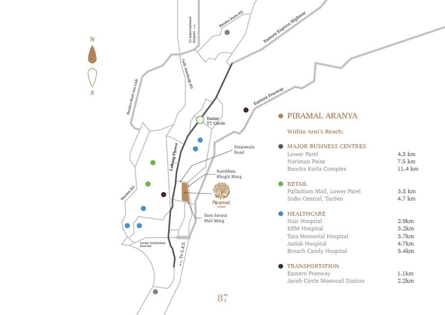 piramal aranya location image1