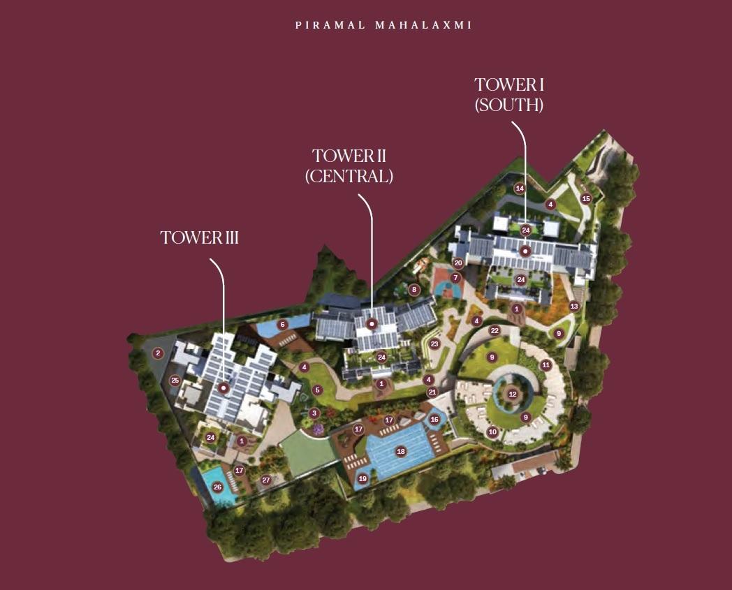 piramal mahalaxmi north tower master plan image5