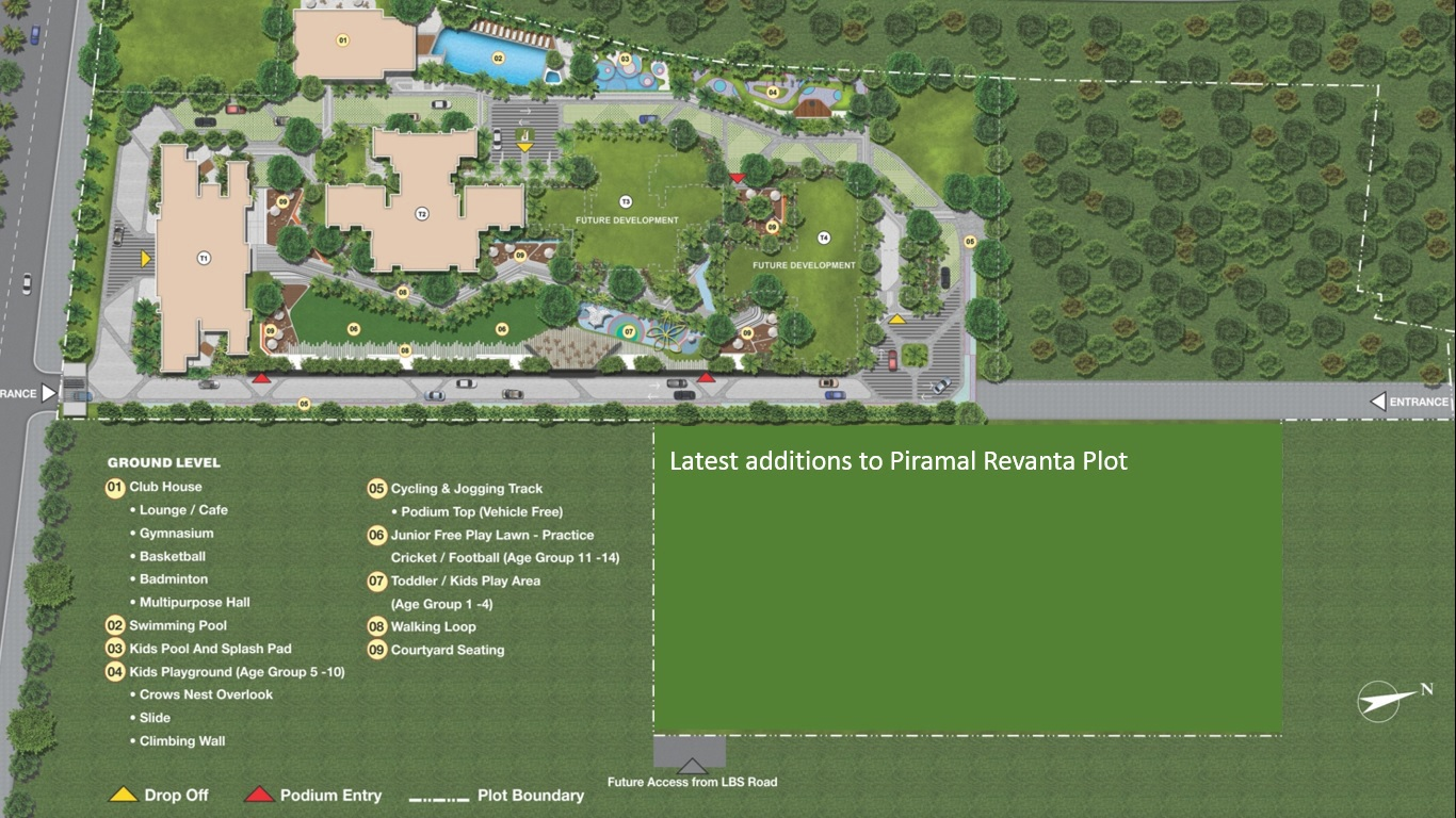 piramal revanta project master plan image1