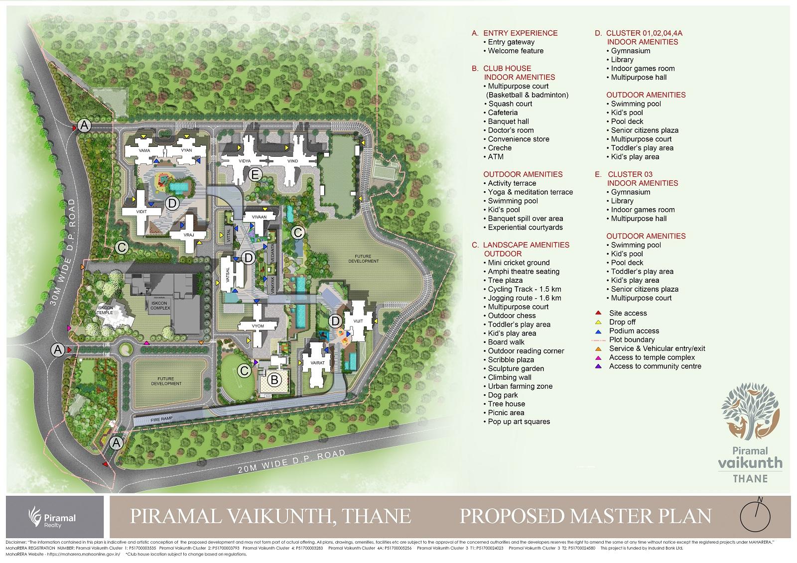 piramal vaikunth cluster 1 master plan image10