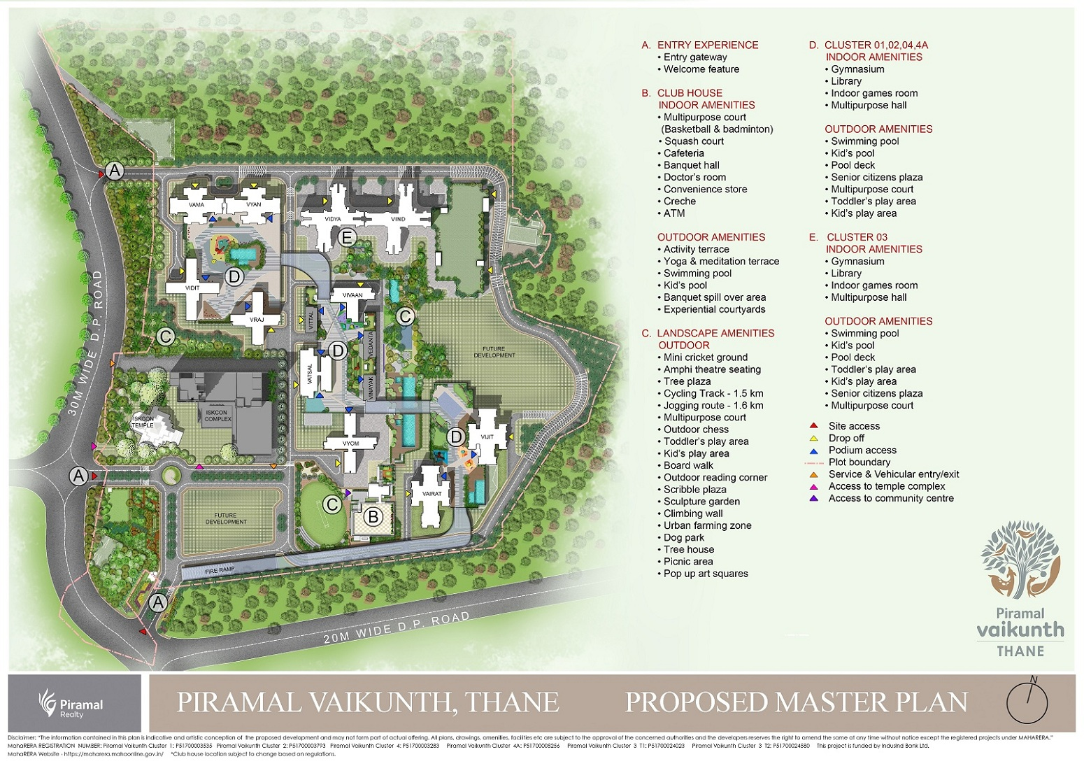 piramal vaikunth project master plan image1
