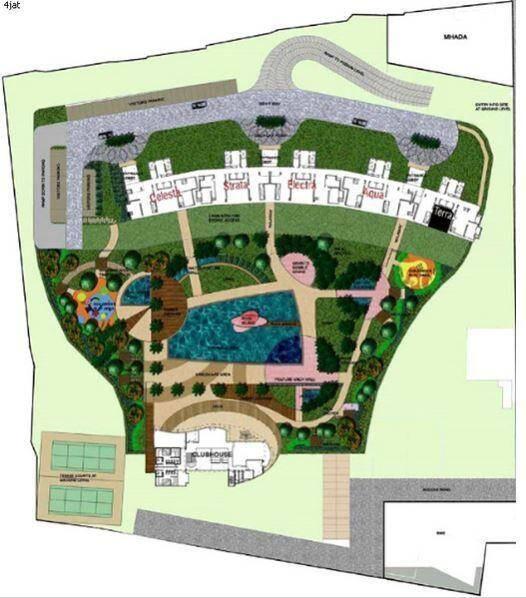 planet godrej project master plan image1