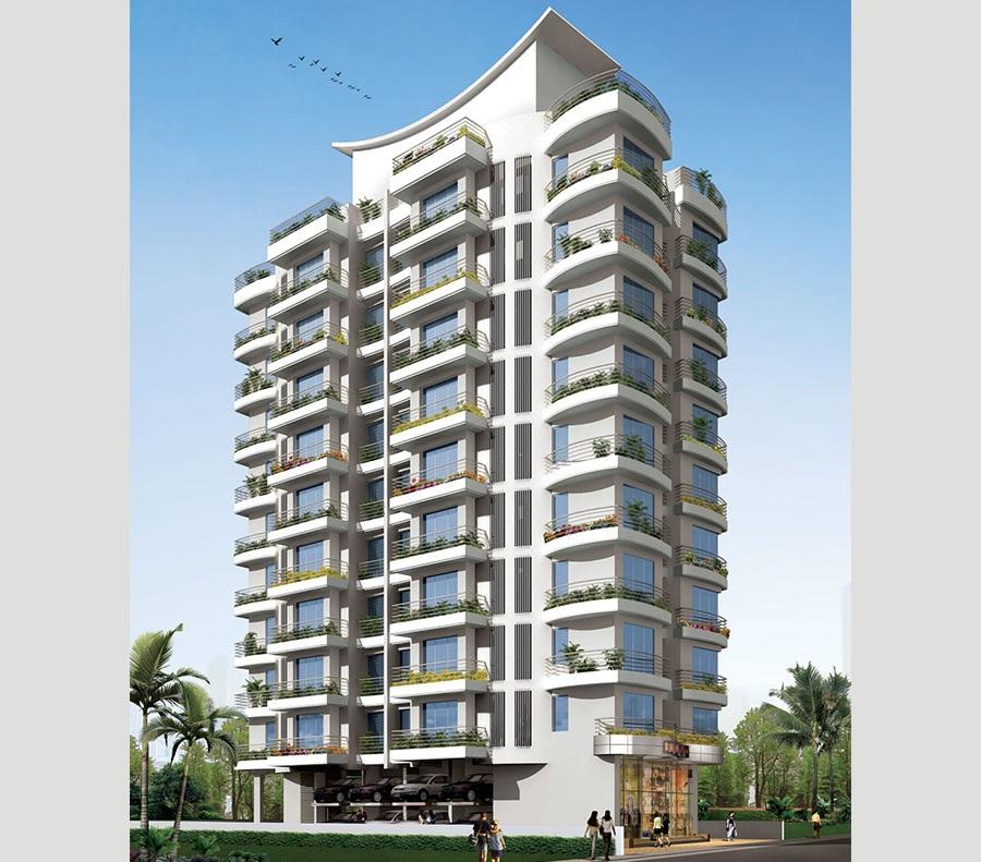 prabhat gurukrupa apartments tower view4