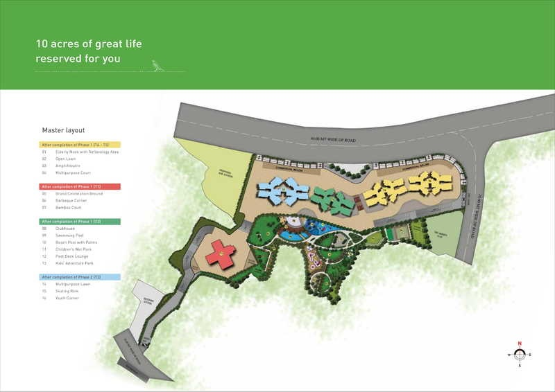puraniks city reserva master plan image6
