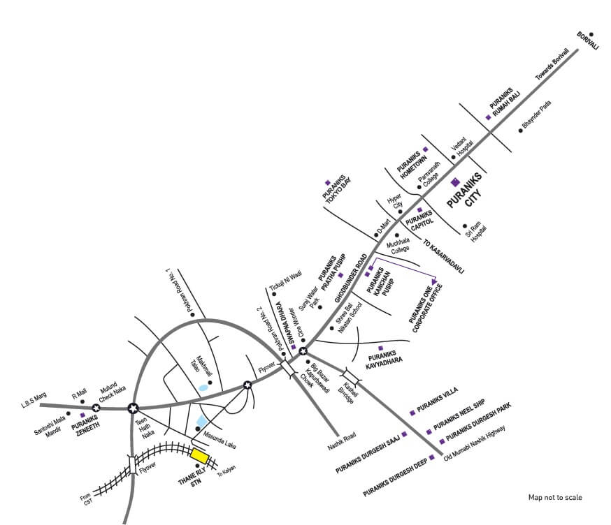 puraniks city reserva project location image1