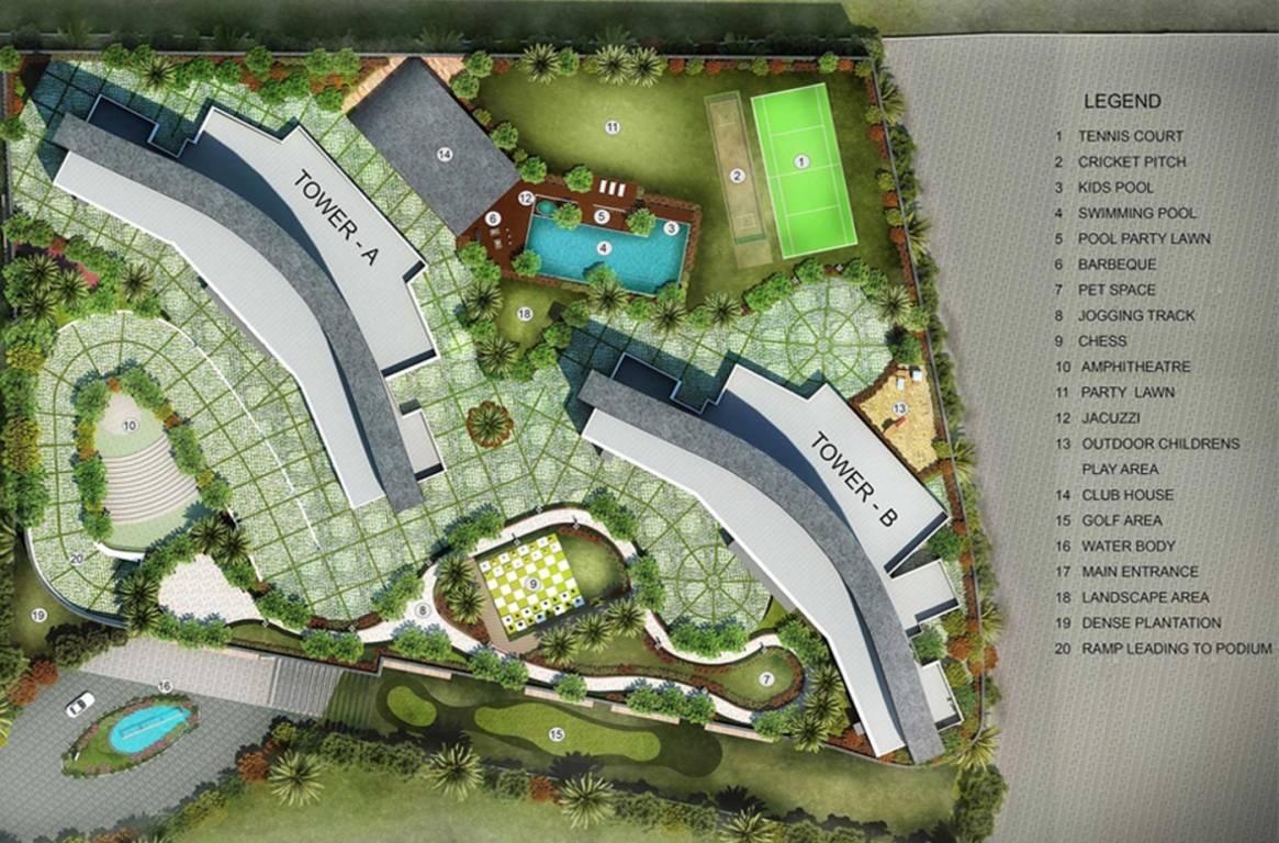 radius one mahalaxmi phase 2 project master plan image1