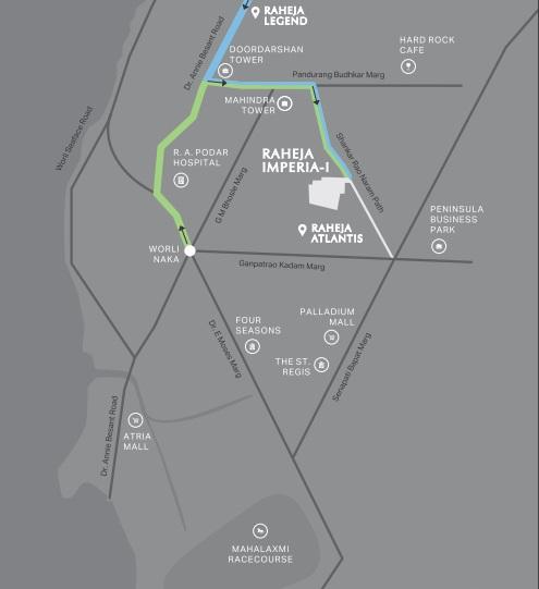 raheja imperia location image5