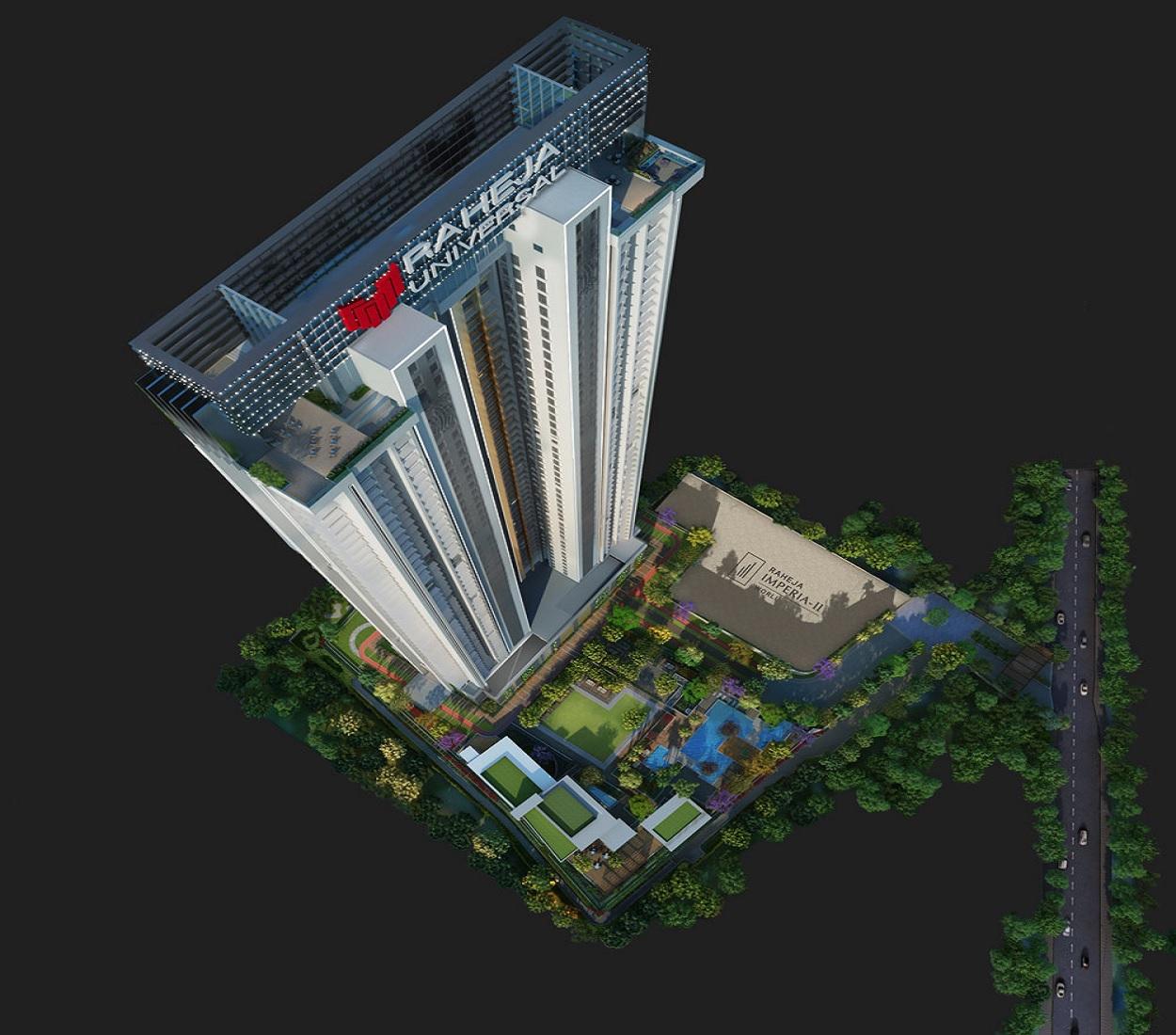 raheja imperia tower view9