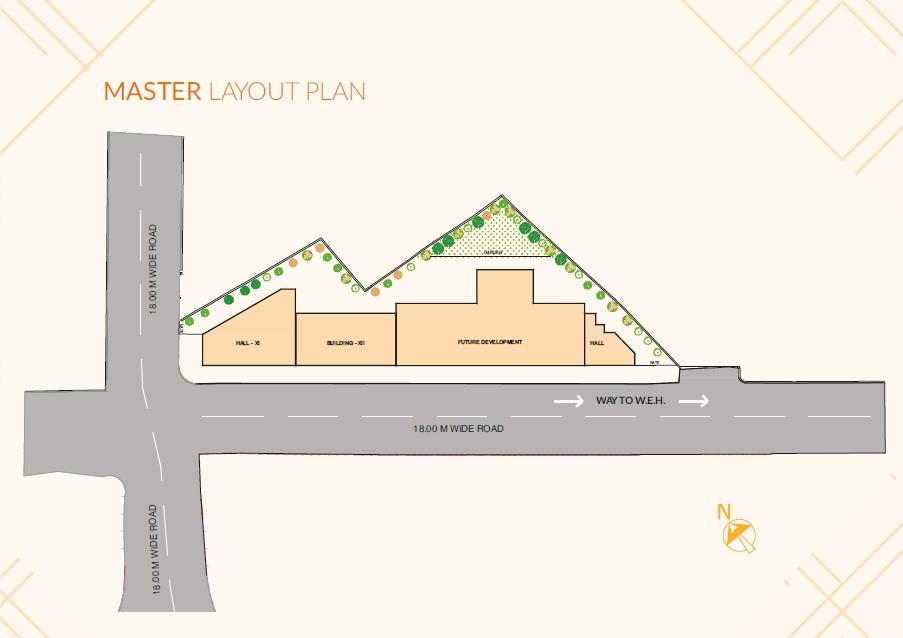 rajdeep wisteria square project master plan image1