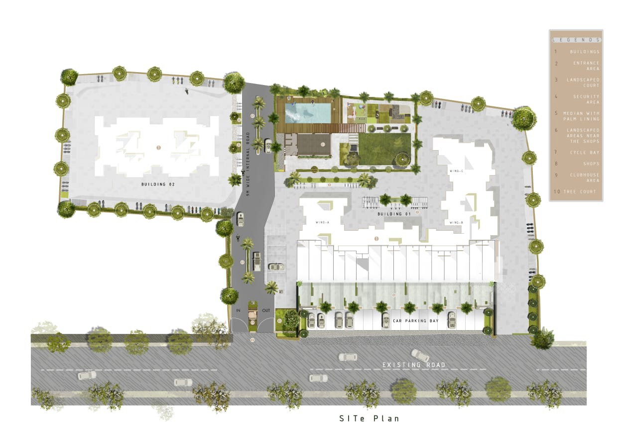 ratneshwar happy homes master plan image1