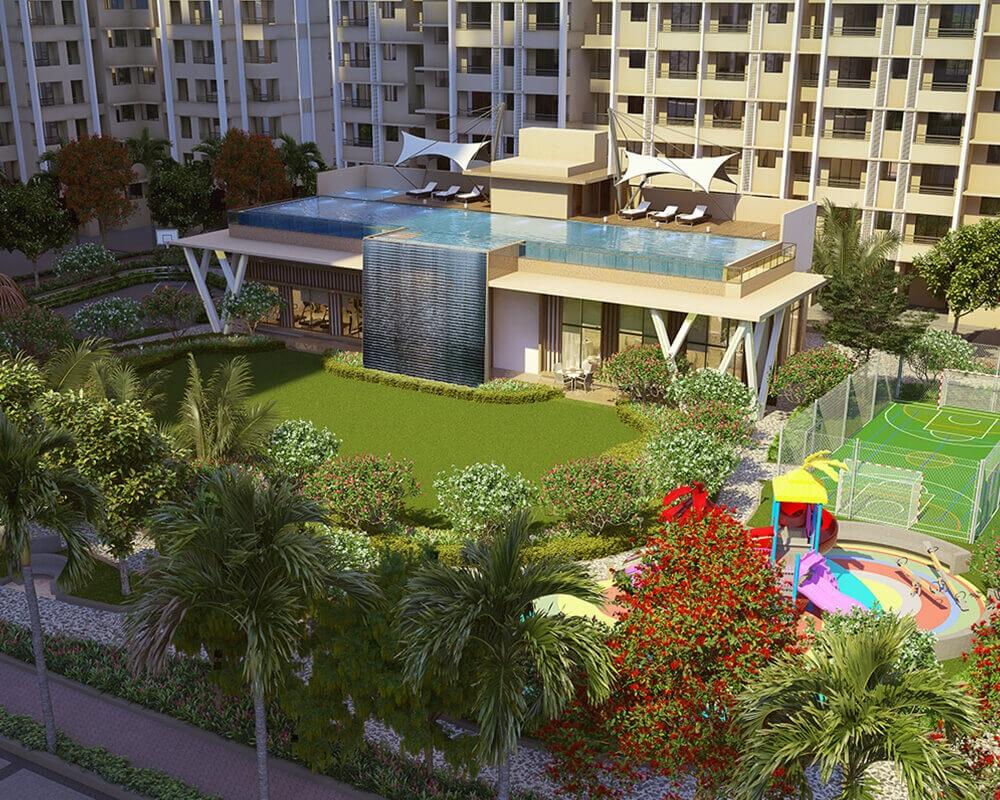 raunak city sector 4 d3 amenities features5