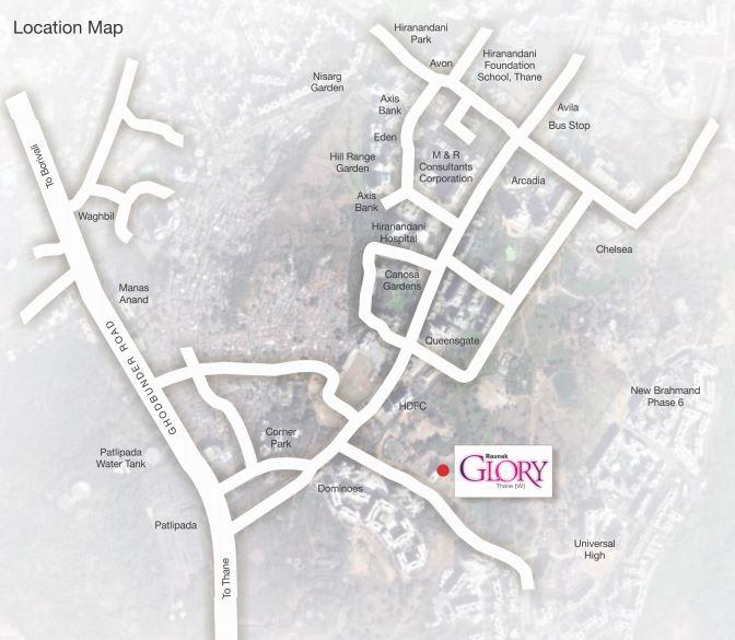 raunak glory project location image1