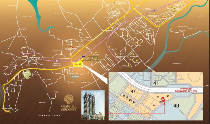 rk vaishnavi emperia location image1