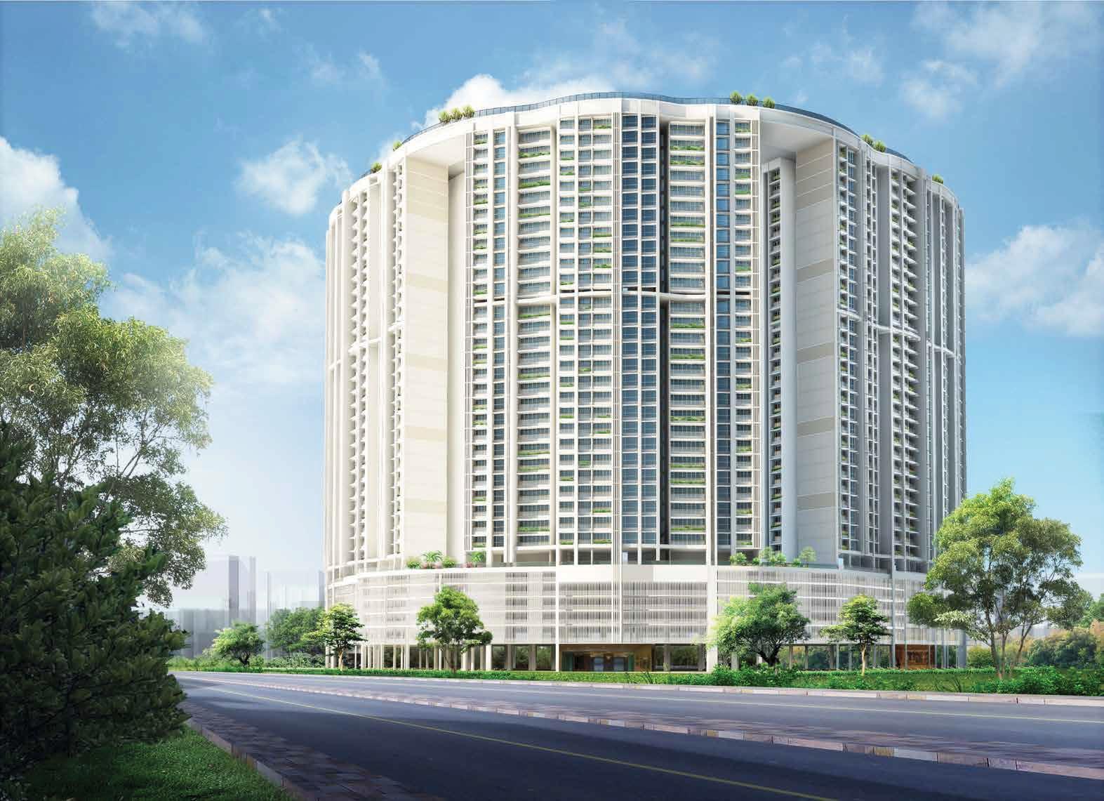 runwal elegante project tower view1