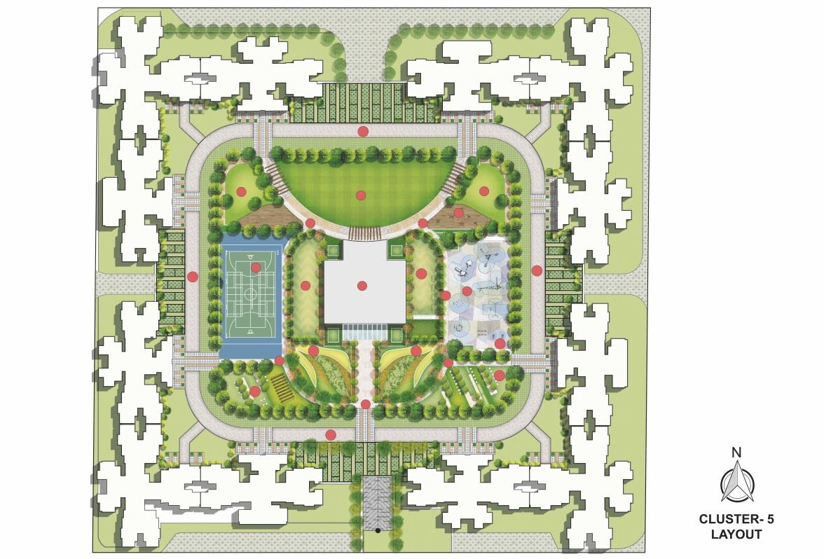 runwal my city phase ii cluster 05 master plan image5