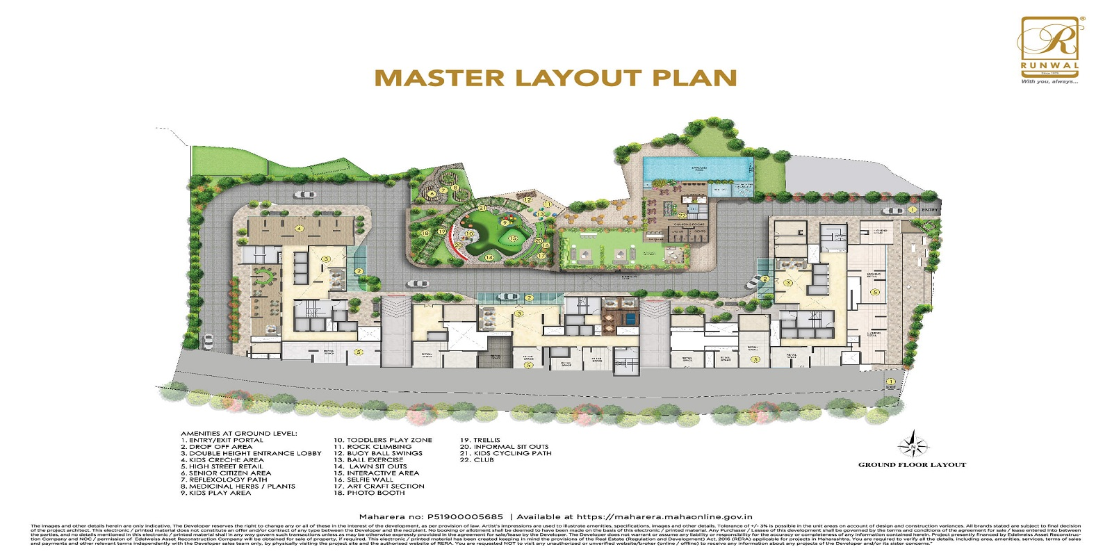 runwal oyt project master plan image1