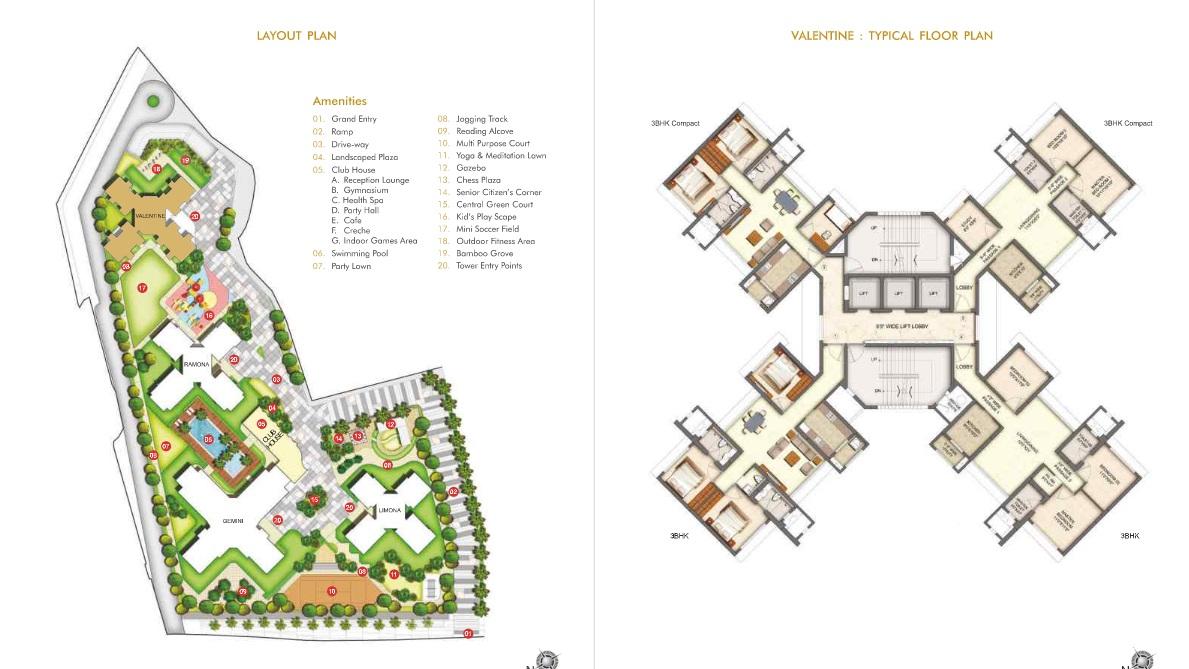 runwal valetina project master plan image1