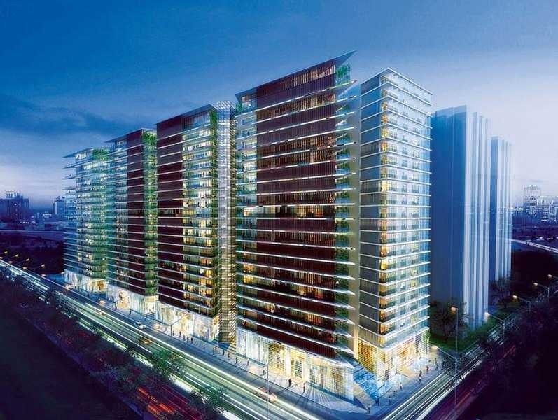 rustomjee elements project tower view1