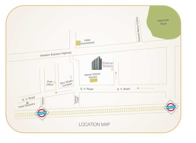 sadguru shalimar shelters chsl project location image1