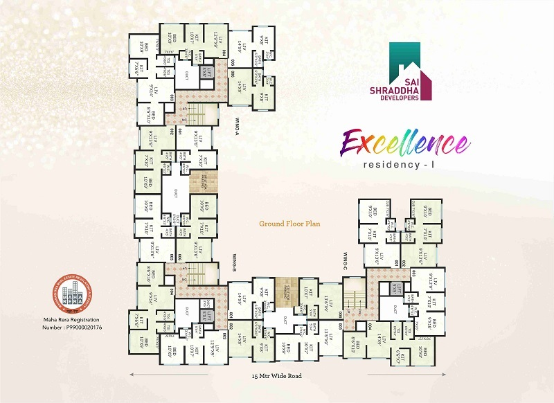 sai shraddha excellence residency project floor plans1