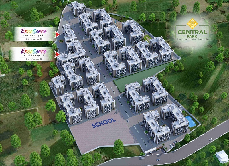 sai shraddha excellence residency project master plan image1