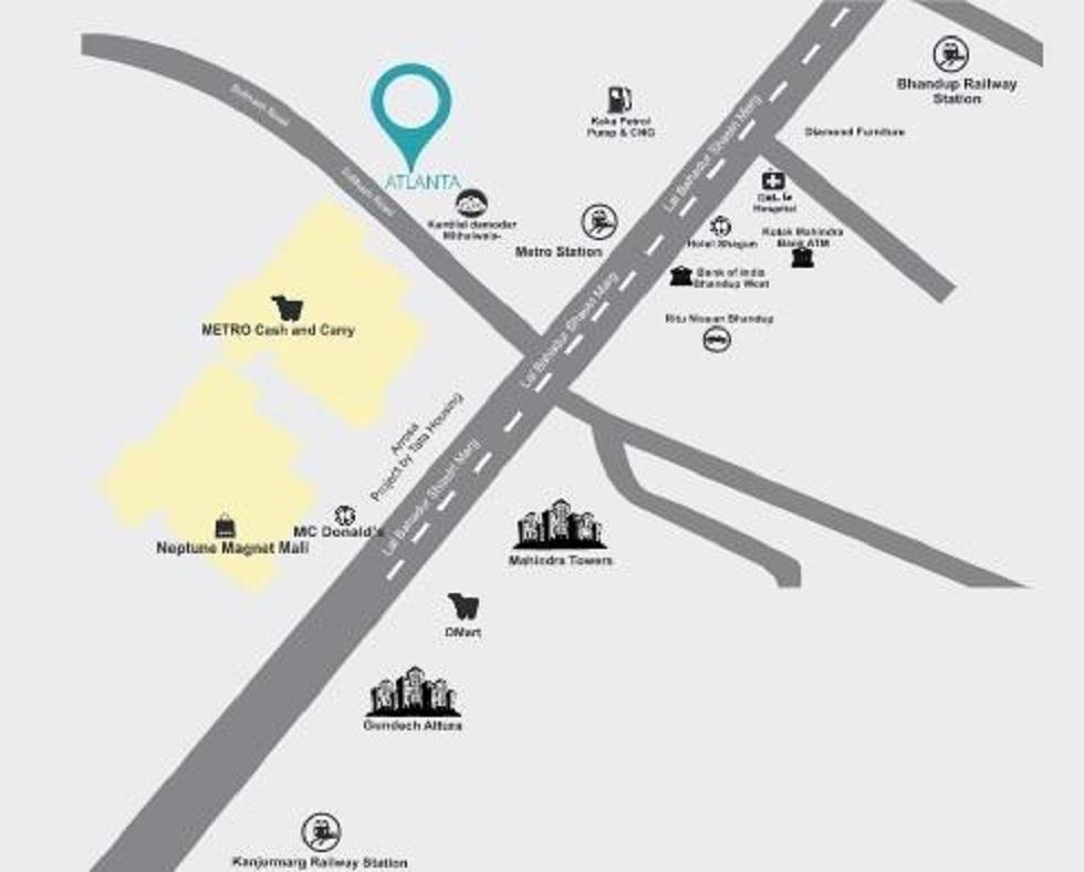 sanghvi atlanta project location image1