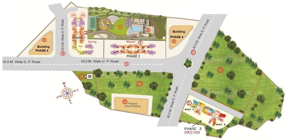 sanghvi ecocity project master plan image1