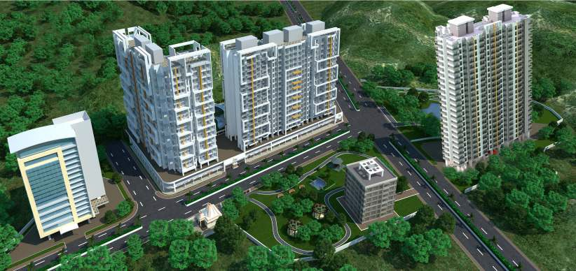 sanghvi ecocity project tower view2