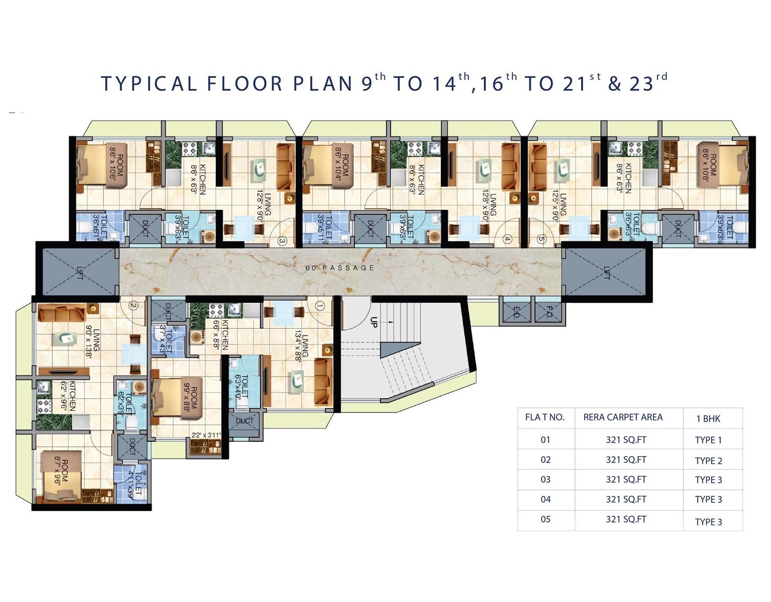 sethia aashray phase 1 project floor plans1