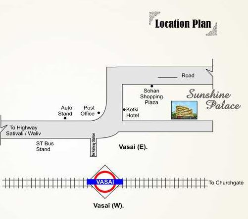 shantee sunshine palace project location image1
