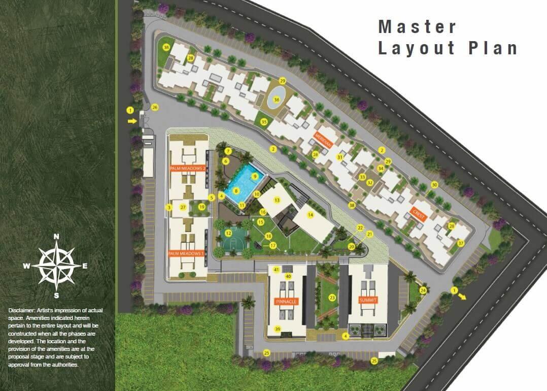 shapoorji pallonji joyville palm meadows master plan image1