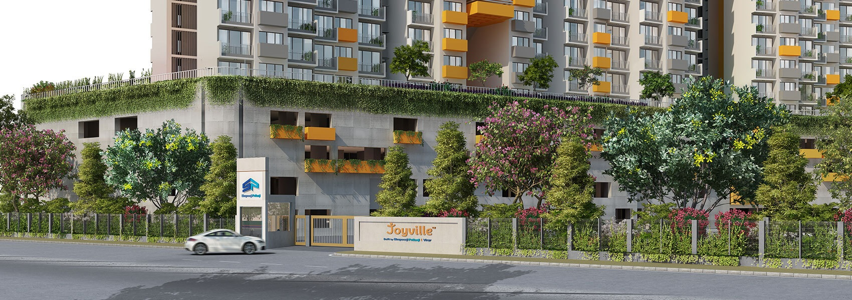 shapoorji pallonji joyville virar phase 5 entrance view8