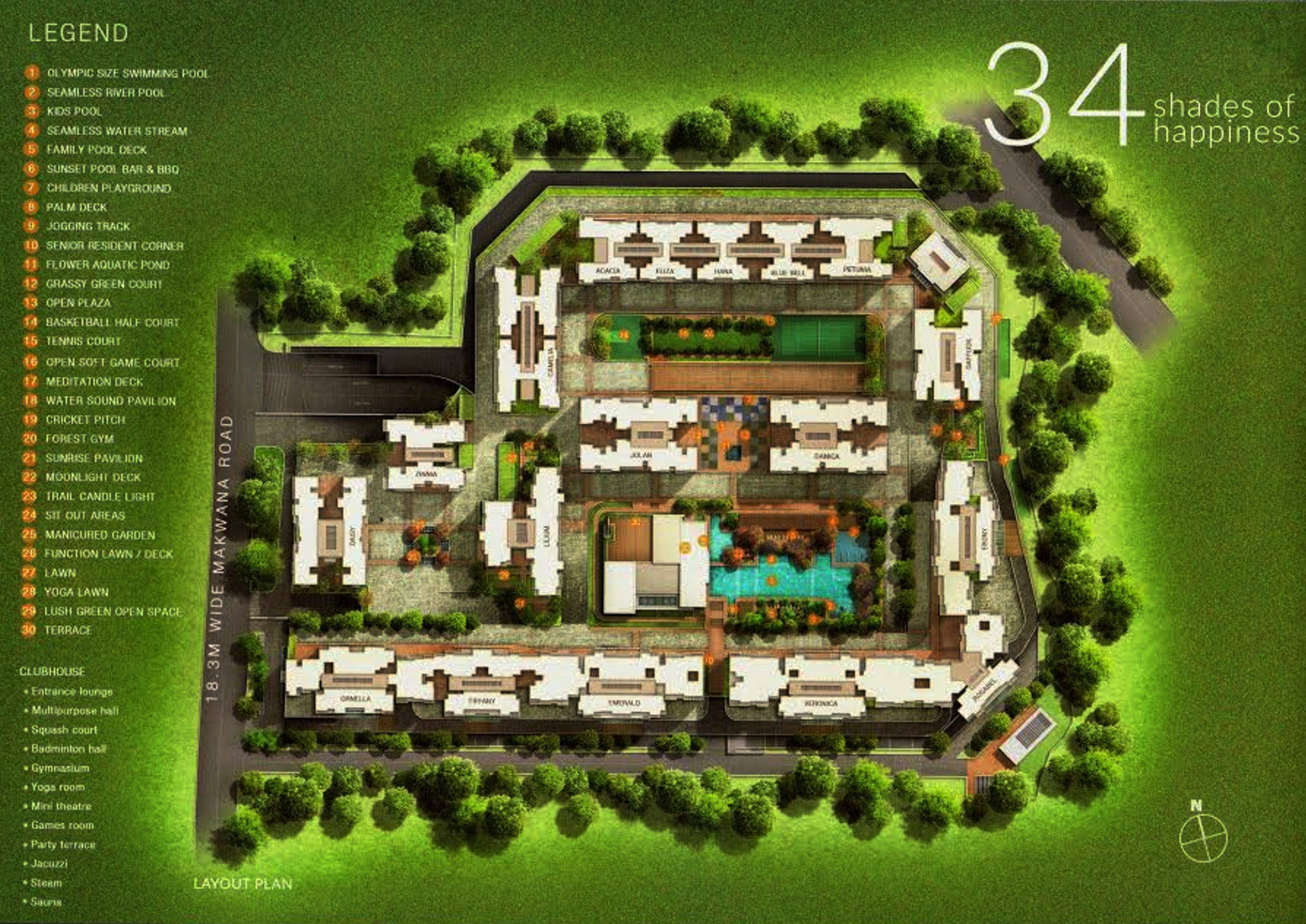 sheth vasant oasis project master plan image1