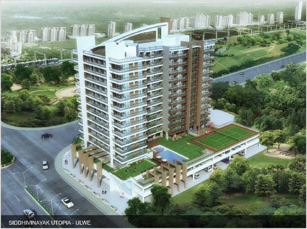siddhivinayak utopia ulwe project tower view1