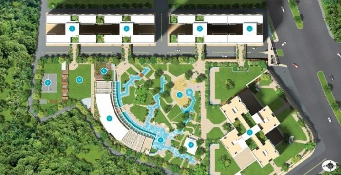 soham tropical lagoon 5 di vita master plan image5