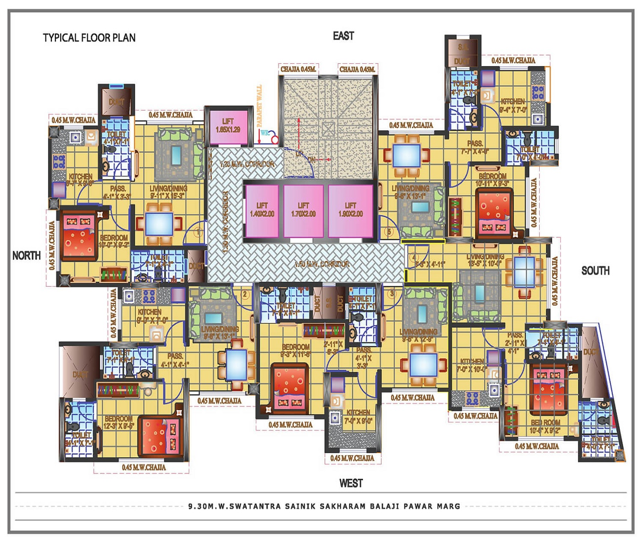 soundlines florence tower project floor plans1