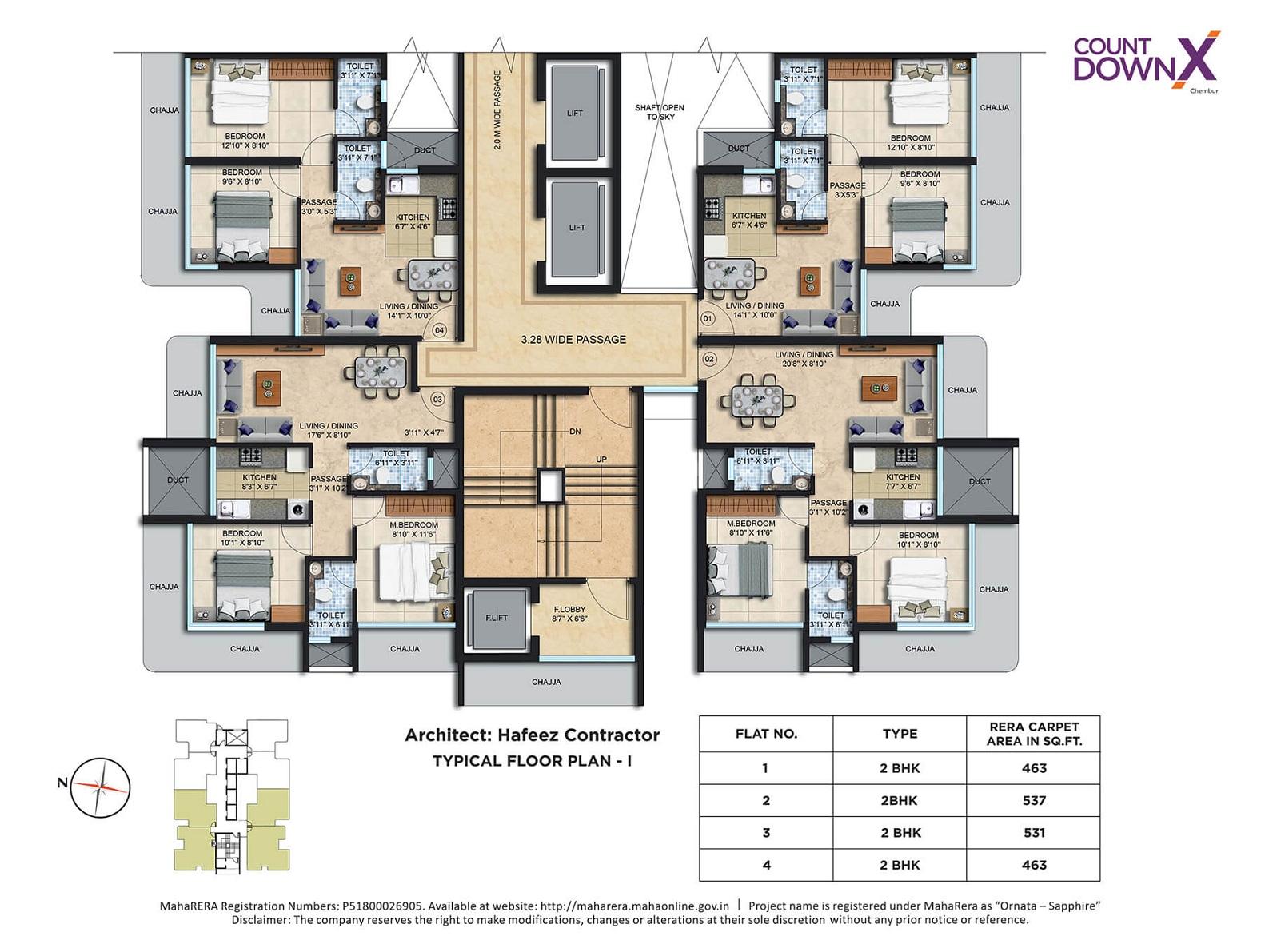 spenta ornata sapphire project floor plans1