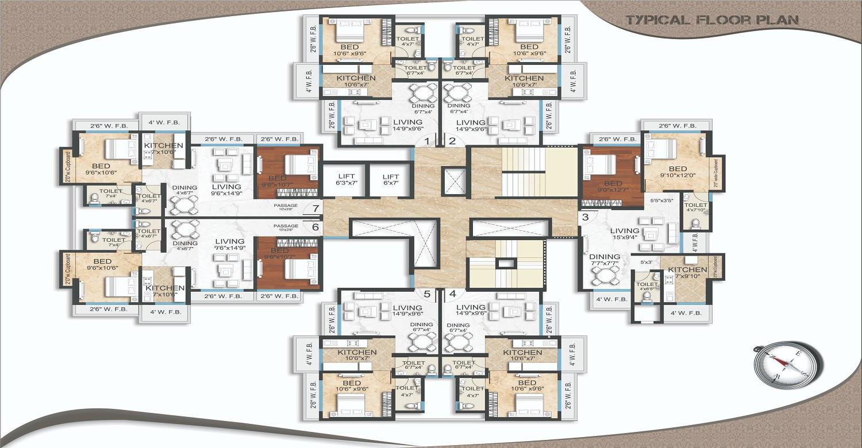 stans ellora height project floor plans1