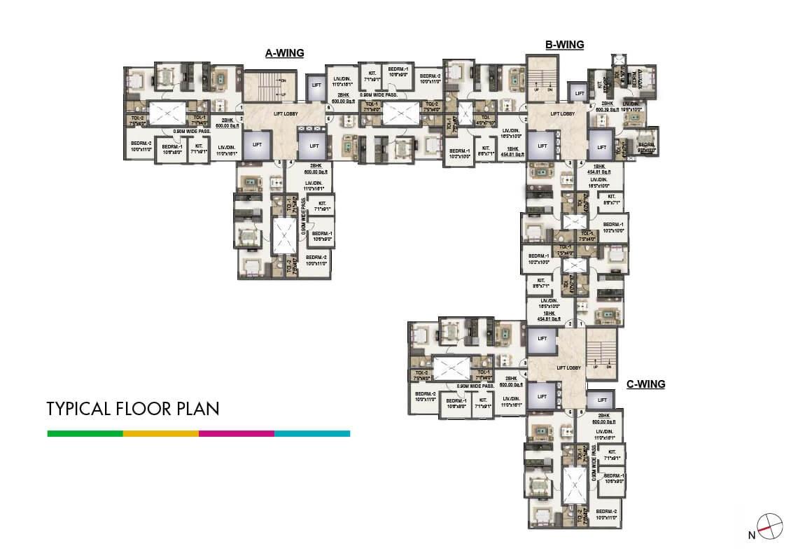 sumer life casa project floor plans1