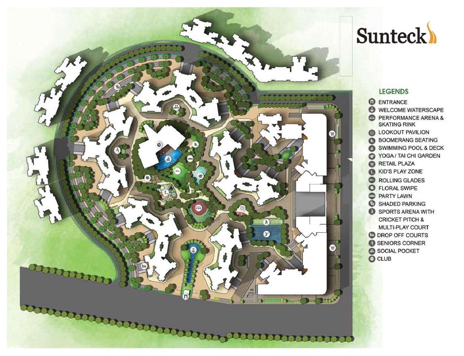 sunteck maxxworld 6 project master plan image1