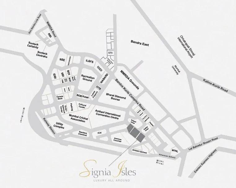 sunteck signia isles project location image1