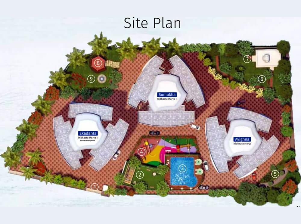 tridhaatu morya phase 2 master plan image5