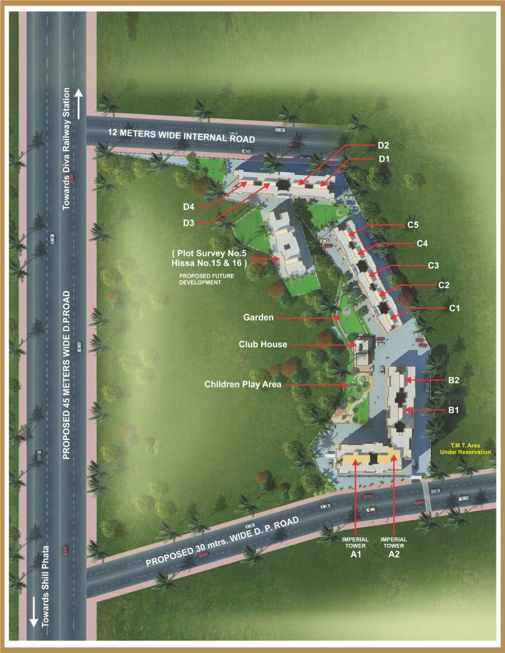 unique buildcorn imperial tower master plan image1