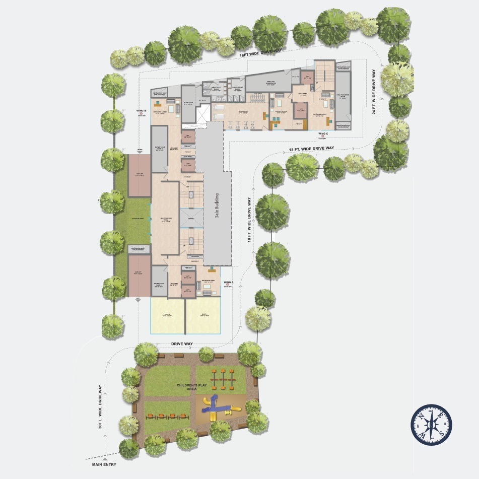 vardhan heights master plan image6