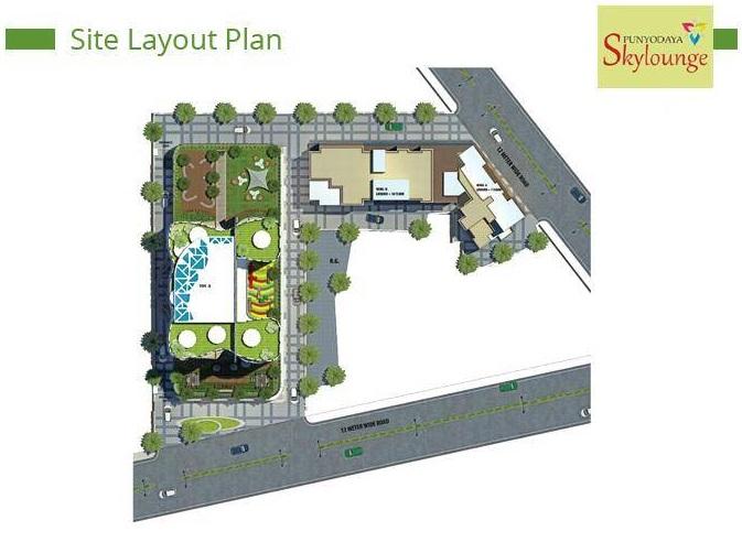 vastusankalp punyodaya skylounge project master plan image1
