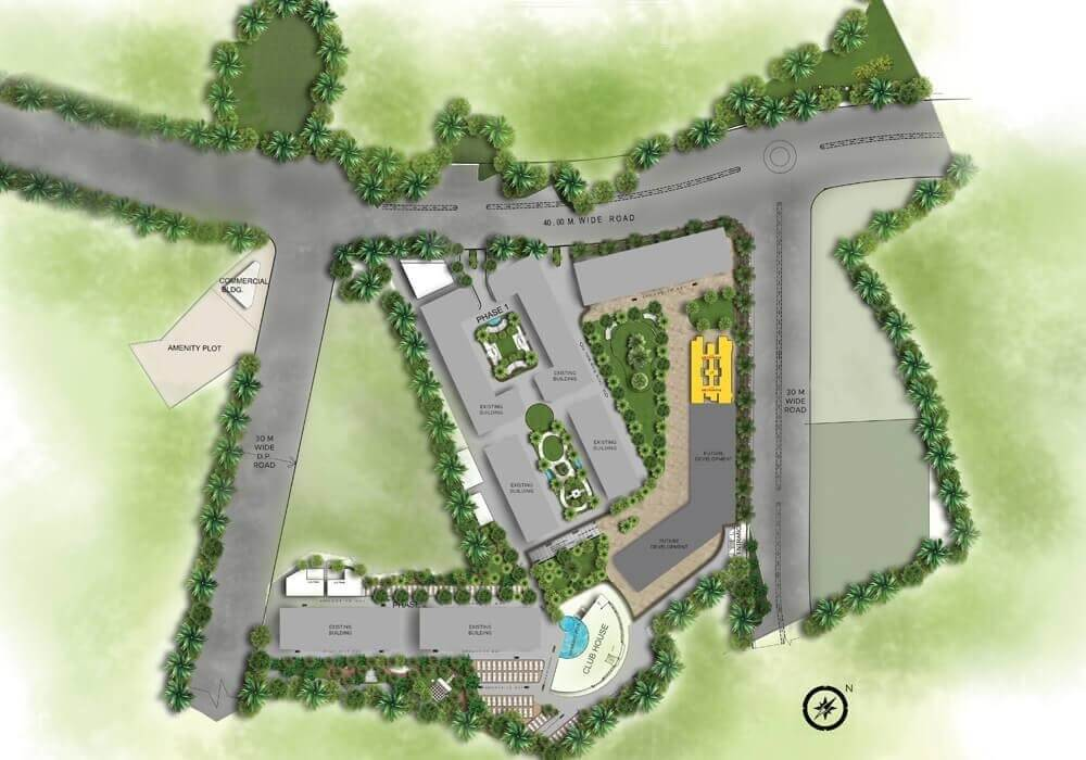 vihang metro hive master plan image1