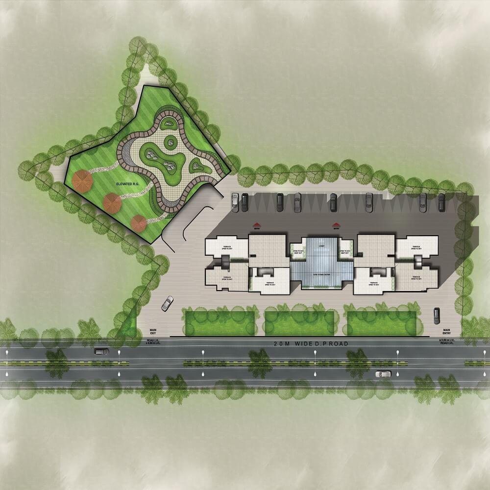 vihang vermount master plan image1